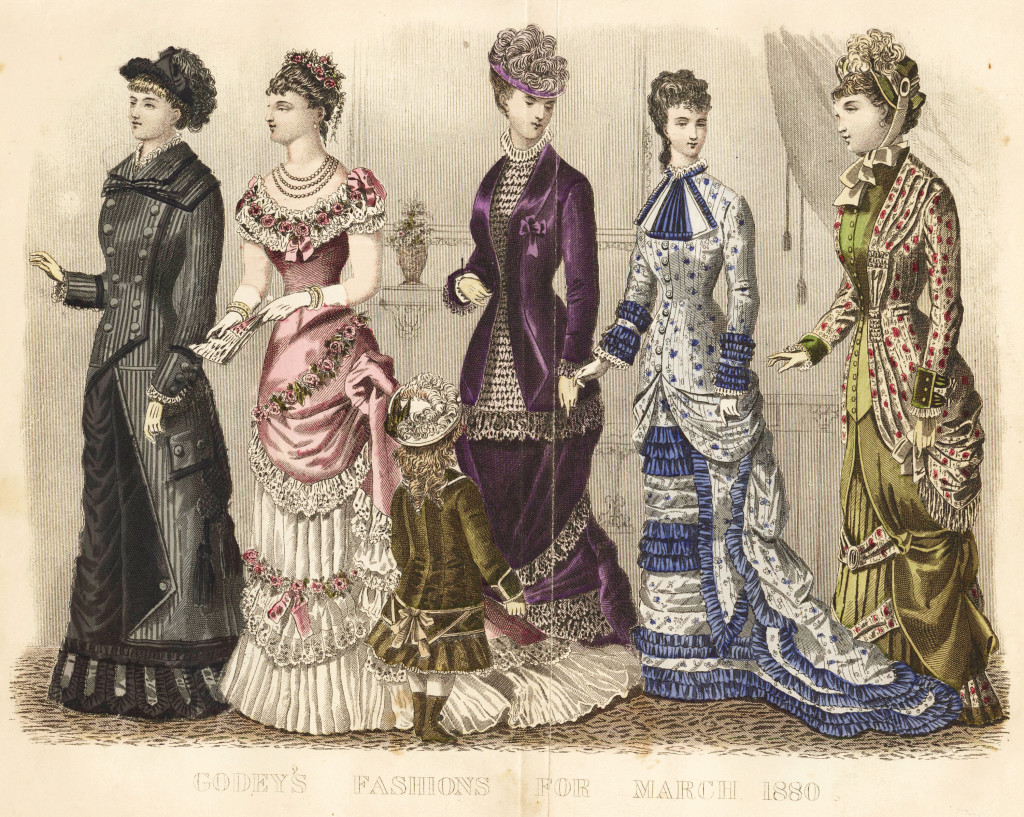 Godey's Lady's Book March 1880